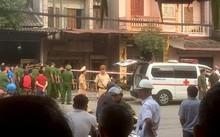 Cảnh sát phong tỏa hiện trường vụ nổ.