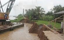 Bến Tre: Sạt lở nghiêm trọng tại huyện Chợ Lách