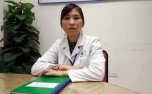 Chị Nguyễn Thị Hường (SN 1991, y sĩ) nhân viên Trung tâm cấp cứu 115 Hà Nội.