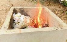 Xây dựng lò đốt rác bảo vệ môi trường nông thôn