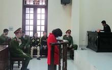 Nguyễn Thị Thúy Hiền tại phiên tòa xét xử cuối vào tháng 1/2017