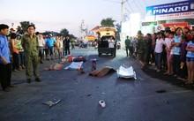 Hiện trường vụ tai nạn khiến 2 bé gái tử vong, 2 người khác bị thương tật trên 50%