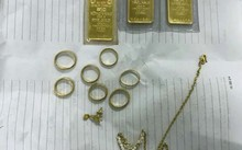 Số vàng tang vật còn lại của vụ án.