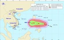 Tin mới nhất về cơn bão Melor hoạt động gần Biển Đông