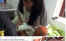 Bé gái 14 tuổi bị bố đánh bầm dập phải nhập viện