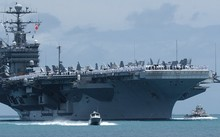 Mỹ điều siêu tàu sân bay đến tập trận ở Hàn Quốc