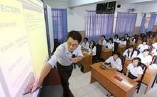 Vĩnh Phúc: Thí điểm dạy Toán bằng tiếng Anh ở cấp Trung học