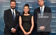 Hoàng tử Anh và David Beckham xuống tận ghế mời Thu Minh chụp hình
