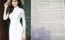 Diễm Hương viết thư tay xin lỗi gửi Cục Nghệ thuật biểu diễn