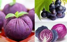 Khám phá lợi ích của thực phẩm màu tím đối với sức khỏe