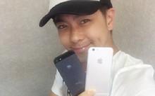 iPhone 6 bất ngờ xuất hiện bên Lâm Chí Dĩnh