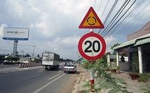 Bộ trưởng Thăng 'khai tử' biển giảm tốc độ dưới 40 km/h