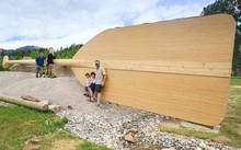 Mái chèo khổng lồ dài nhất thế giới