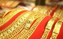 Giá vàng giảm mạnh, thấp nhất trong vòng 7 tháng