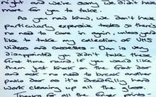 Khôi hài chủ nhà viết thư xin lỗi... trộm