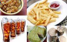Những thực phẩm khiến tăng cân cần tránh dịp Tết