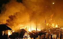"""Quảng Nam: """"Bà hỏa"""" tấn công dữ dội CT ván ép Đài Loan"""