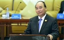Thủ tướng Nguyễn Xuân Phúc đối thoại với lãnh đạo các DN hàng đầu Trung Quốc. Ảnh: VGP/Quang Hiếu