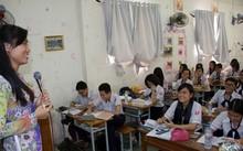 Nhiều trường THPT phải thay đổi lại thời khóa biểu, chương trình học để thích nghi với phương án thi THPT quốc gia 2017. Ảnh: Tiền Phong.
