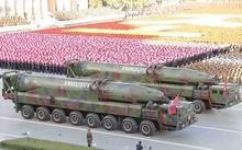 Tên lửa KN-08 của Triều Tiên. Ảnh: Yonhap