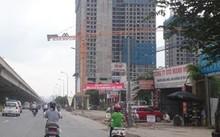 Dự án Eco Green City đang trong quá trình xây dựng. Ảnh: Tuấn Nguyễn.