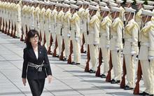 Bộ trưởng Quốc phòng Nhật Bản gửi lời nhắn kiên quyết đến Trung Quốc. Ảnh: AFP