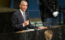 Tổng thống Mỹ Barack Obama tại Đại Hội đồng Liên Hợp Quốc. Ảnh: UN