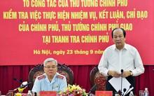 Bộ trưởng, Chủ nhiệm VPCP Mai Tiến Dũng phát biểu tại buổi làm việc. Ảnh: VGP/Nhật Bắc