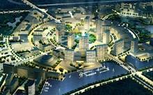 Phối cảnh hoành tráng của dự án khu đô thị Đại học Quốc tế Việt Nam (VIUT) do Tập đoàn Berjaya làm chủ đầu tư thực chất vẫn nằm trên giấy và đang đứng trước nguy cơ bị thu hồi. Ảnh: Bqltaybac.