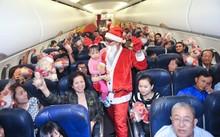 Vietjet thực hiện chuyến bay may mắn mùa Giáng sinh
