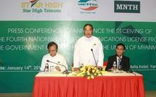 Myanmar là thị trường nước ngoài thứ 10 của Viettel