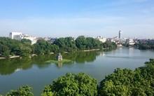 Hà Nội xin ý kiến nạo vét, cải tạo nguồn nước Hồ Gươm. Ảnh: Đăng Dũng.