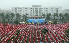 Hơn 5.000 NCT tham gia đồng diễn xác lập kỷ lục Việt Nam