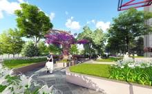 Phối cảnh góc sân vườn dự án Imperial Plaza 360 Giải Phóng