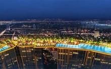 """Bể bơi vô cực, điểm nhấn đắt giá của Sunshine City,""""resort trong thành phố"""""""