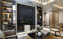 Phòng ngủ trong căn hộ Sunshine Center, Sunshine City lấy cảm hứng từ những du thuyền và khách sạn 5 sao