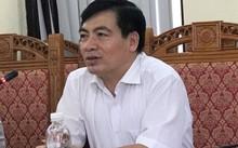 Ông Lê Chí Thái, Phó chủ tịch UBND huyện Vĩnh Tường trả lời phỏng vấn Ngày Nay