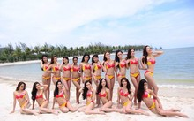 Bikini Vietjet tại cuộc thi HHHV 2015