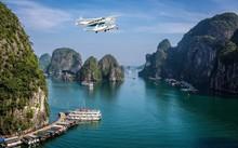 Thăm thú Vịnh Hạ Long trên những chiếc thủy phi cơ