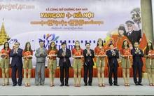 Vietjet khai trương đường bay Hà Nội - Yangon (Myanmar)
