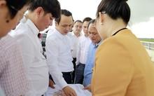 Đoàn công tác Tập đoàn FLC tiến hành khảo sát thực địa tại các điểm được tỉnh giới thiệu.