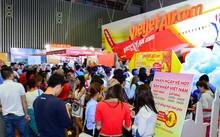 Vietjet mở bán 700.000 vé 0 đồng chào đón Hội chợ Du lịch quốc tế TP.HCM 2017
