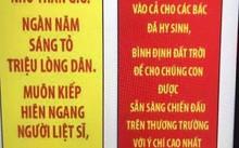 Lời nhắn nhủ của CEO Vietjet với nhân viên của bà khi đi cầu siêu được BTC in trên cờ nheo thả lên không trung