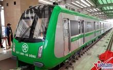 Kế hoạch tàu chạy thử tại dự án đường sắtđô thị Cát Linh - Hà Đông vào tháng 10 tới đã phá sản hoàn toàn