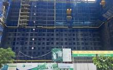 EcoHome Phúc Lợi đã xây đến tầng 16, ngày 25/9/2017 cất nóc toàn bộ dự án