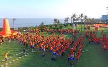 K20 – Đại học luật Hà Nội tham gia hoạt động teambuilding tại FLC Sầm Sơn.