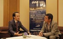 Chủ tịch FLC trả lời PV Nikkei tại Nhật Bản