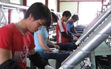 Lao động Việt Nam làm việc tại HQ, ảnh Nguyễn