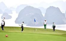 Sân FLC Ha Long Golf Club có tổng diện tích 224 ha, nằm trên đồi cao thuộc Quần thể du lịch nghỉ dưỡng FLC Hạ Long Bay Golf Club. Ảnh, Quang Thắng