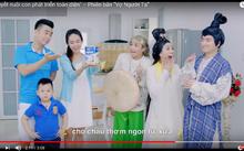 Hình ảnh cắt từ quảng cáo sữa bột Dielac Alpha của Vinamilk, quảng cáo đứng đầu bảng xếp hạng YouTube khu vực Châu Á – Thái Bình Dương